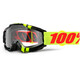 100% Accuri Goggle Anti Fog Clear Lens / Zerbo